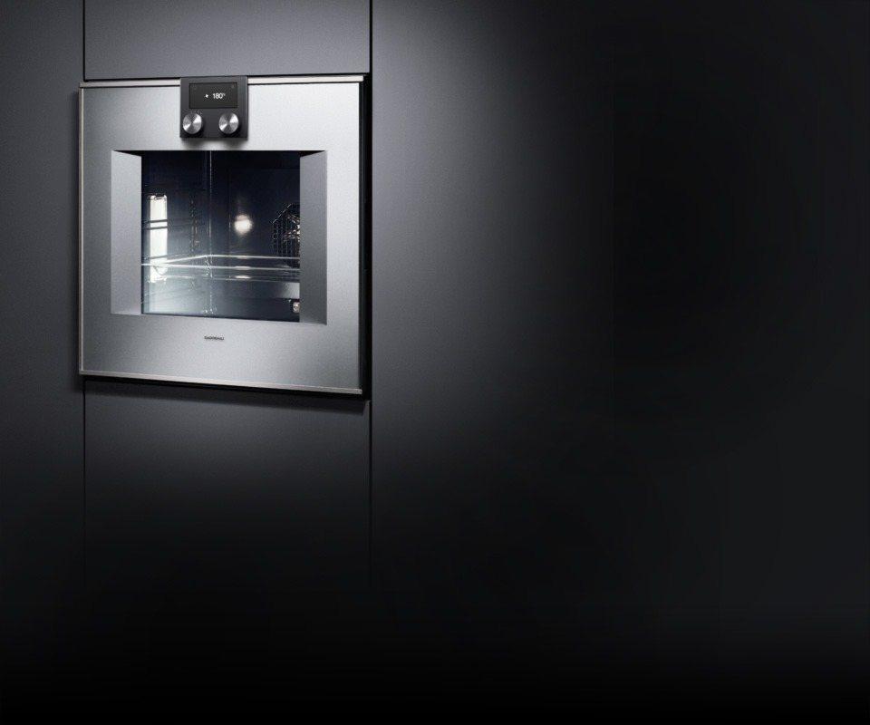 Mini Modern Kitchen Miele Gaggenau: Kenig: Gaggenau Oven BO470/471